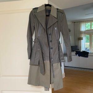 BCBG military coat